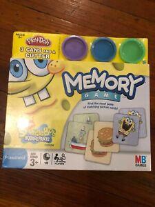 Spongebob Play-doh : spongebob, play-doh, Sponge, Squarepants, Memory, Milton, Bradley, Play-Doh, Bonus, 653569544784