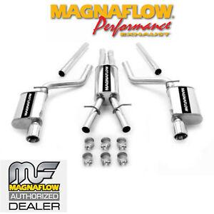 details zu magnaflow cat back dual exhaust system 2005 2014 chrysler 300 5 7l hemi 15629
