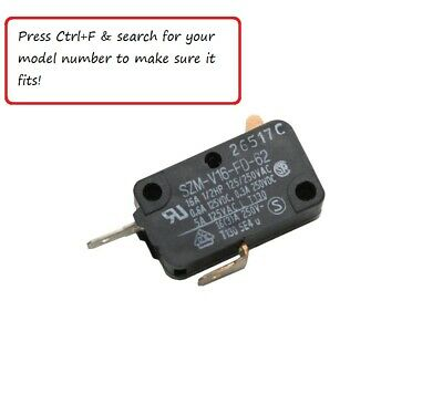 samsung microwave door micro switch oem original replacement fit w your model ebay