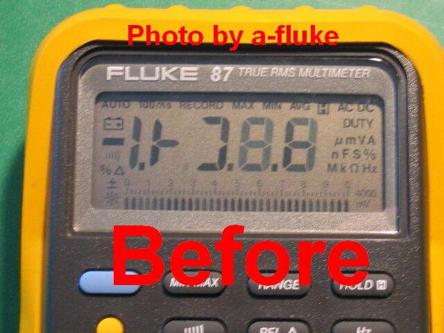 Fluke 87 Lll Matco Md8753 Repair Kit For Fading Lcd Digital Display