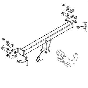Witter Towbar for BMW 5 Series Saloon / Sal 1996-2003 (E39