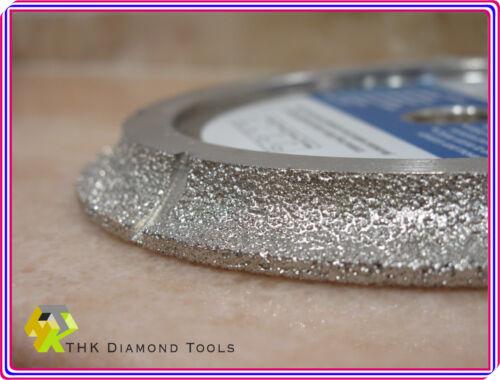 home garden 8 inch diamond vacuum brazed 1 2 radius half bullnose profile wheel tile saw u tools workshop equipment