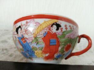 details sur ancienne tasses a cafe en porcelaine extrafine japonaise