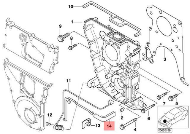 Genuine BMW Cable Guide Z3 E36 318i 318is 318ti Z3 1.9
