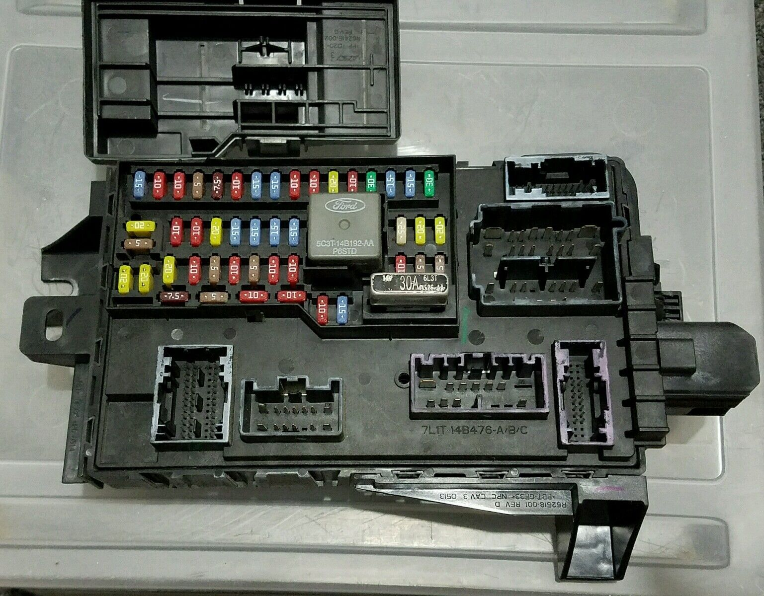 hight resolution of ford edge fuse box