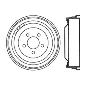 C-TEK Standard Brake Drum-Preferred fits 1965-1968