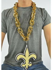 New Orleans Saints Jewerly : orleans, saints, jewerly, Orleans, Saints, Color, Chain, Necklace, Magnet
