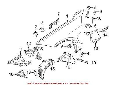 For BMW Genuine Fender Reinforcement Bar Front Left