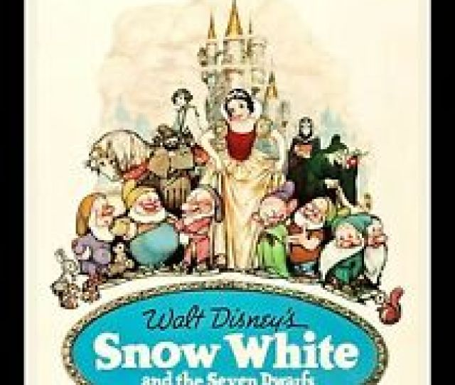 Image Is Loading Snow White And The 7 Seven Dwarfs 1937