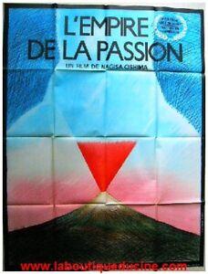L'empire De La Passion Film Complet : l'empire, passion, complet, L'EMPIRE, PASSION, Affiche, Cinéma, Pliée, 160x120, Movie, Poster, NAGISA, OSHIMA