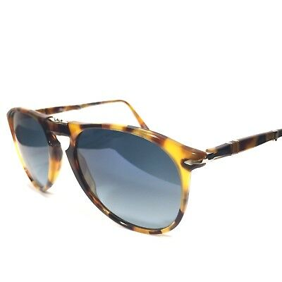 PERSOL 9714 1052/S3 Madreterra Tortoise Polarized Foldable Sunglasses -MSRP $360 | eBay