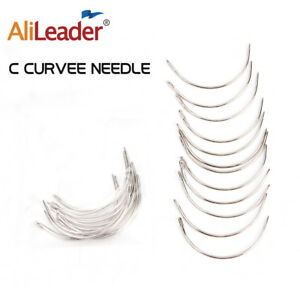 12PCS C Style Weaving Needle For Hair Weft Weave Type