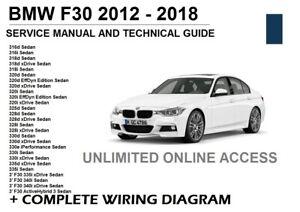 BMW f30 3-Series 2012 2013 2014 2015 2016 2017 2018