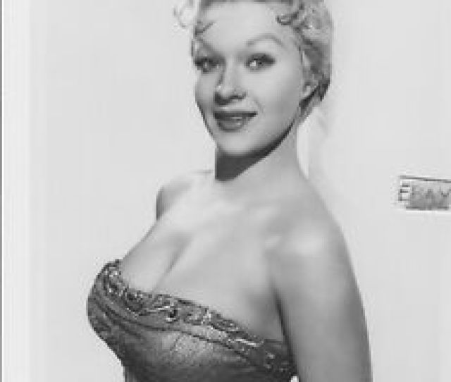 Image Is Loading Busty Blonde Libel Mom 1959 Vintage Photo