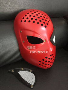 Spiderman Face Shell : spiderman, shell, Homecoming, Civil, Amazing, Spiderman, Faceshell, Lenses, Props