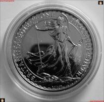 1 Oz Silber 2 Pfund Britannia 2012 Großbritannien in Kapsel Unze Münze Barren BU