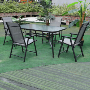 outdoor garden dining table chairs seat