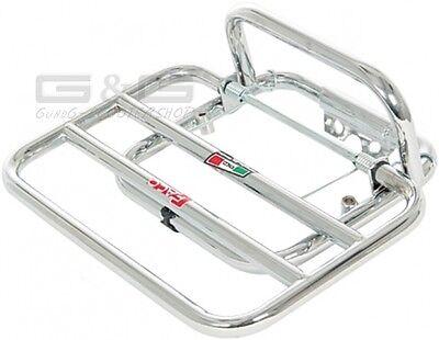Porte-Bagages Arrière Faco Chrome pour Piaggio Vespa LX 50