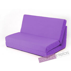 double seat folding chair hickory simone king bed purple fold out z 2 sofa guest mattress