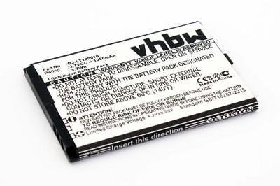 Handy Akku Batterie [1000mAh] fuer PANASONIC KX-TU327, KX