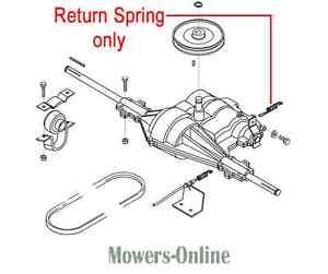Genuine AL-KO Gearbox Return Spring 514605 Tractor Ride On