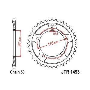 JT 530 41T Rear Sprocket for Kawasaki 06-17 ZX-14R ZX14 06