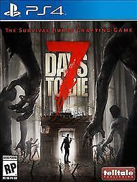 7 Days To Die Map Ps4 : (Sony, PlayStation, 2016), Online