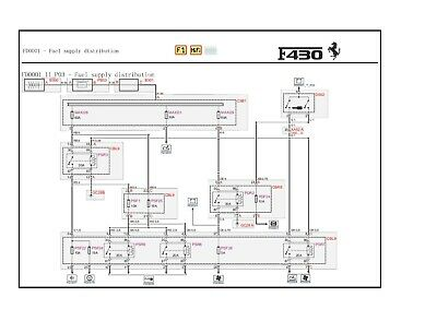 Ferrari Factory Ferrari 430 Coupe Wiring Diagrams Manual