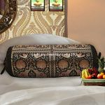 Sofa Indian Cushion Bolster Pillow Brocade Round Neck Sofa Cover Cushion Throw For Sale Online
