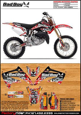 Cr85 Graphics : graphics, 2003-2009, HONDA, Motocross, Graphics, GRAPHICS, DECALS
