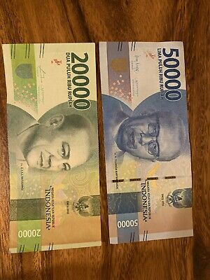 10000 Won To Idr : 10000, Indonesia, 20000, 50000, Rupiah, Banknotes., Indonesian, 70,000, Total., Notes