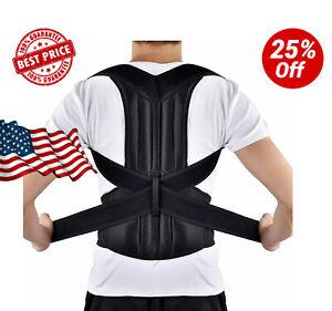 Dr.HO Adjustable Back Brace Posture Corrector Back Support ...