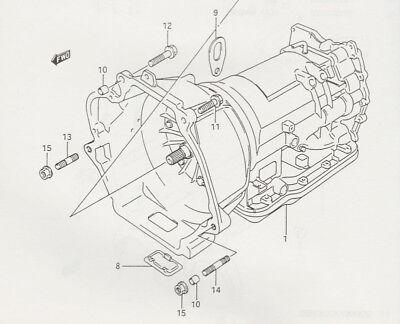 Suzuki Sidekick Geo Tracker used transmission for 5-speed