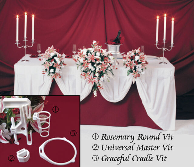 5 wedding flowers bridal bouquet holder i head table display decorations 3vits