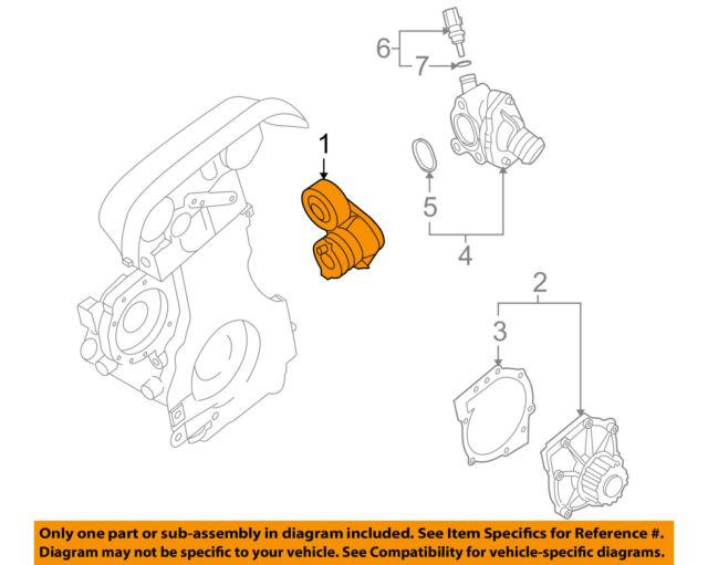 04-08 volvo s40 compressor alternator belt tensioner oem 30650957 - volvo  s40 engine diagram