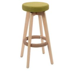 Round Wooden Chair Covers Adelaide Sa Linen Bar Stool Dining Counter Barstools High Image Is Loading