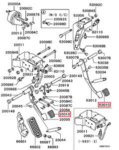 Brand New 1991-1999 Mitsubishi 3000GT Clutch and Brake