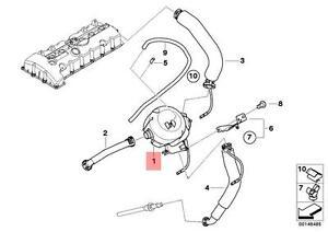 Genuine BMW E60 E61 E63 E64 E65 Oil Separator Breather