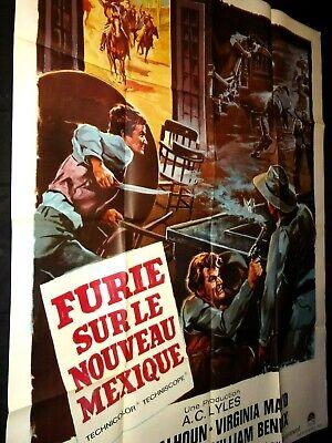 Furie Sur Le Nouveau Mexique : furie, nouveau, mexique, FURIE, NOUVEAU, MEXIQUE, Calhoun, Affiche, Cinema, Western