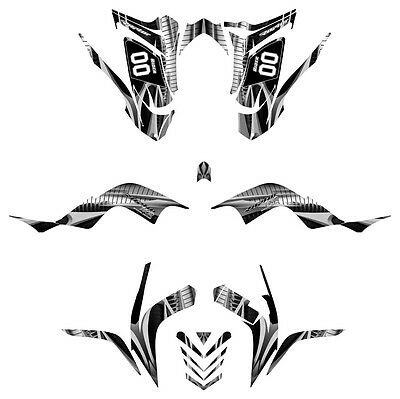 Raptor 700 Graphics Yamaha 700R Kit 2006 2007 2008 2009
