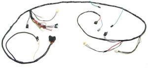 1969 Camaro Headlight Wiring Harness V8 & Warning Lights