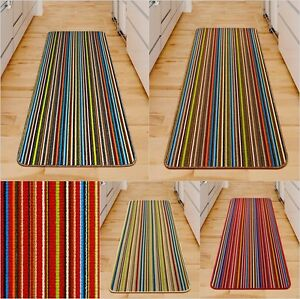 large kitchen mats round wood table new small machine washable colourful non slip image is loading