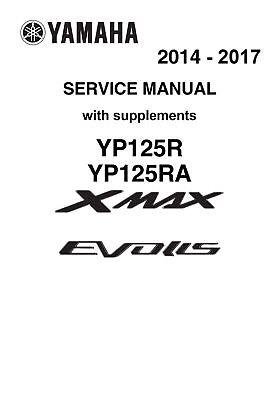Yamaha X-Max 125 2014 2015 2016 2017 Xmax YP125R Evolis