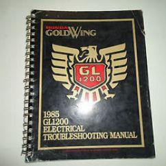 Honda Goldwing 1200 Wiring Diagram Citroen Berlingo Radio 1985 Gl1200 Electrical Troubleshooting Image Is Loading