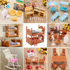 image is loading miniature furniture doll house plastic furniture gifts for