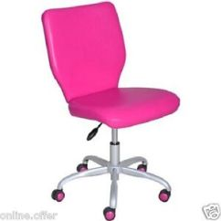 Girls Pink Desk Chair West Elm Stackable Office For Adjustable Furniture Computer Seat Image Is Loading