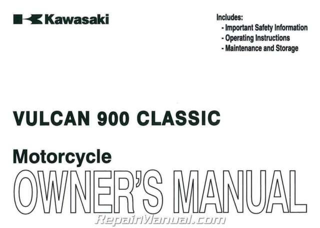 2006-2012 Kawasaki VN900BC Vulcan Classic Motorcycle