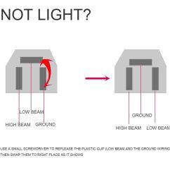77 81 pontiac firebird trans am led headlight 4x6 high low beam head lamp set 4 ebay [ 1000 x 1000 Pixel ]