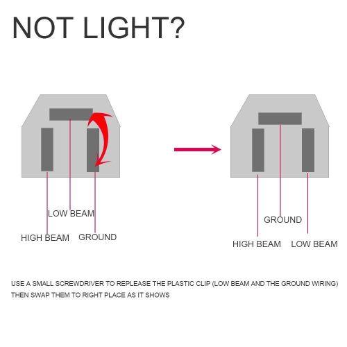 small resolution of 77 81 pontiac firebird trans am led headlight 4x6 high low beam head lamp set 4 ebay