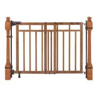 Summer Infant 32-48 inch Banister and Stair Gate with Dual ...